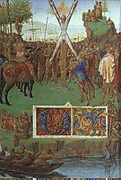 Martyrdom of St. Andrew before the Proconsul Egeas, c.1445, fouquet