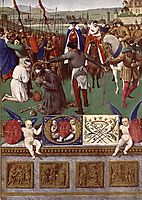 The Martyrdom of St. James the Great, c.1445, fouquet