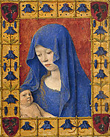 Mary holding the Christ child, fouquet