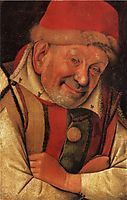 Portrait of the Ferrara Court Jester Gonella, c.1442, fouquet