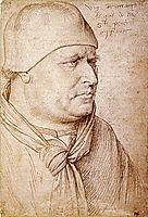 Portrait of a Papal Legate, 1460, fouquet