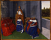 Preaching the First Crusade at Clermont, 1460, fouquet