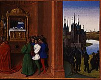 Robert the Pious Files an Antiphon, 1460, fouquet