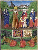 Sainte Anne  and the three Maries, fouquet