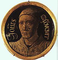 Self-Portrait, c.1450, fouquet