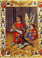 Simon De Varie Kneeling In Prayer, fouquet