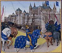 Taken in Tours in 1189, 1460, fouquet