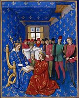 Tribute of Edward III to Philip, 1460, fouquet