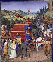 Triumph of Jehoshaphat over Adad of Assyria, 1475, fouquet