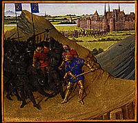 Victory of Henry I on his brother Robert, 1460, fouquet
