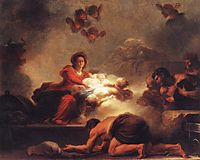 Adoration of the Shepherds, 1775, fragonard