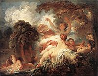 The Bathers, 1772-1775, fragonard