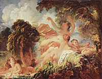 The Bathers, c.1765, fragonard