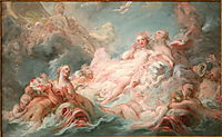 The Birth of Venus, 1755, fragonard