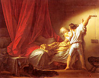 The Bolt, 1784, fragonard