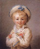 A Boy as Pierrot, 1776-1780, fragonard