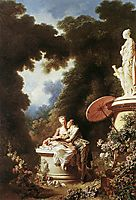The Confession of Love, 1771, fragonard