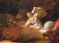 The fight unnecessary, fragonard
