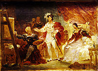 Francois the Ist in the studio of Rosso, fragonard