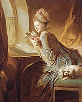 The Love Letter, 1770-1780, fragonard