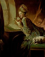 The Love Letter, c.1780, fragonard