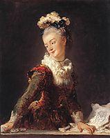 Marie-Madeleine Guimard, Dancer, 1769, fragonard