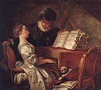 Music Lesson, 1769, fragonard