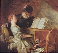 The Music Lesson , c.1769, fragonard