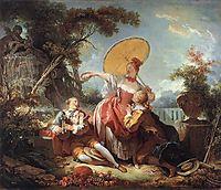 The Musical Contest, 1754, fragonard