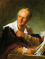 Portrait of Denis Diderot, c.1769, fragonard