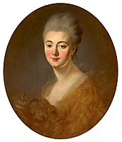 Portrait of Elisabeth Sophie Constance de Lowendhal, 1785, fragonard