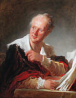 Portrait of a Man, Denis Diderot, fragonard