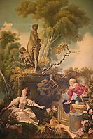 The Progress of Love, fragonard