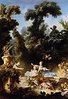 The Progress of Love The Pursuit, 1773, fragonard