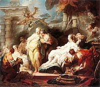 Psyche showing her Sisters her Gifts from Cupid, 1753, fragonard