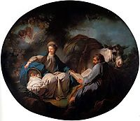 Rest on the Flight into Egypt, fragonard