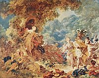 Rinaldo in the garden of the palace of Armida , c.1763, fragonard