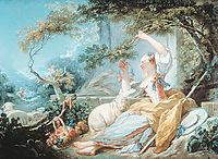 The Shepherdess, 1752, fragonard