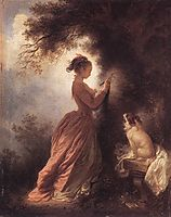 The Souvenir, 1775-1778, fragonard