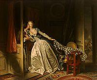 The Stolen Kiss, 1788, fragonard
