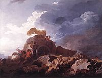 The Storm, 1759, fragonard