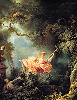 The Swing, 1767, fragonard