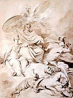 To the Genius of Franklin, c.1778, fragonard