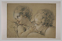 Two heads danger, fragonard