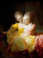 The Two Sisters, fragonard