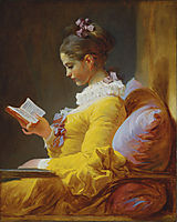 A Young Girl Reading, 1776, fragonard