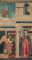 Annunciation, 1464, francesca