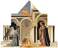The Annunciation, c.1460, francesca