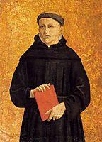 Augustinian Saint, c.1460, francesca
