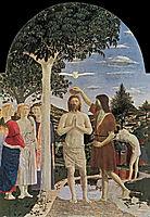 Baptism of Christ, 1450, francesca